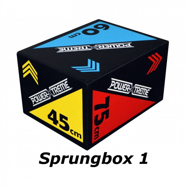 POWER-EXTREME 3in1 Soft Sprungbox - 2 Ausführungen