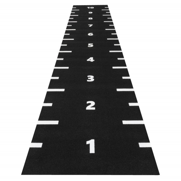 2 Meter Breite - Länge nach Wahl -Markierung + Zahlen