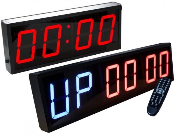 CrossFit - Timer 4 oder 6 stellige Anzeige
