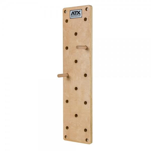 ATX® Pegboard aus massivem Buchenholz 120 x 30 cm
