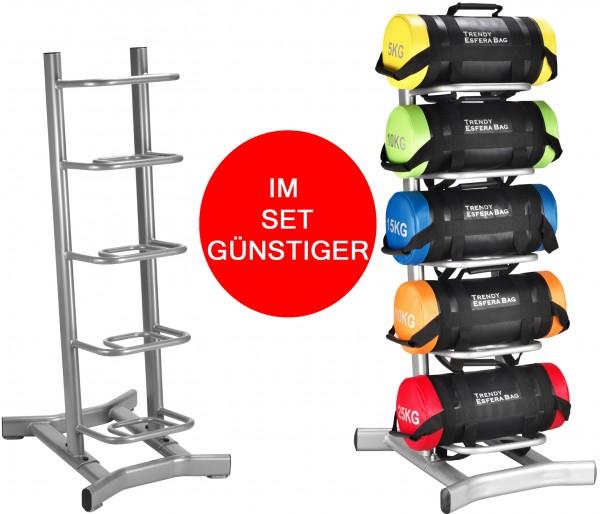 Trendy-Bags (5-25 KG) + Rack im SET