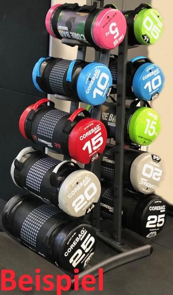 CORE-Bag & Ball Pro-Active Doppel-Rack für 10 Bags oder Bälle