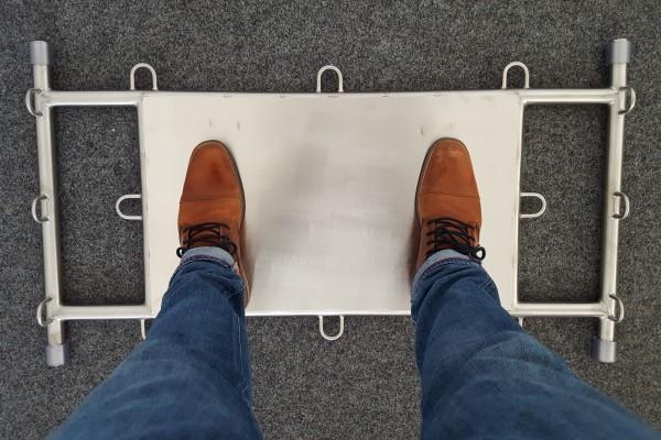 THE BASE - Edelstahl Plattform für Widerstandsbänder / Jumpstretch