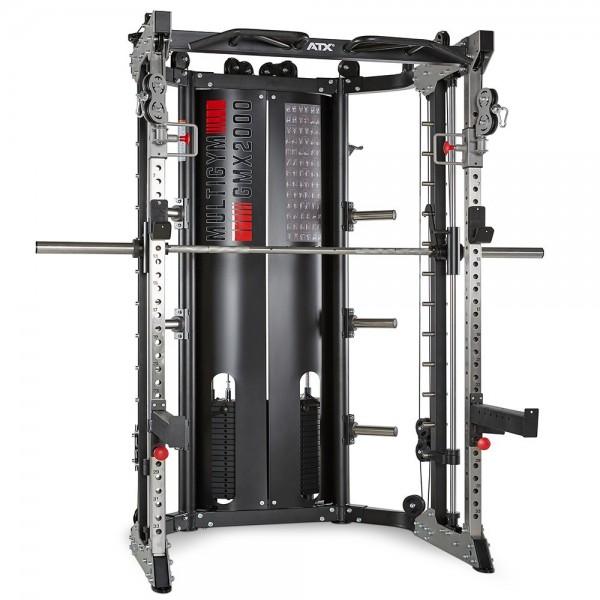 ATX Multigym GMX-2000 mit 2 x 90 KG Steckgewichten - SONDERPREIS INKL. BEINPRESSE-/LEGPRESS