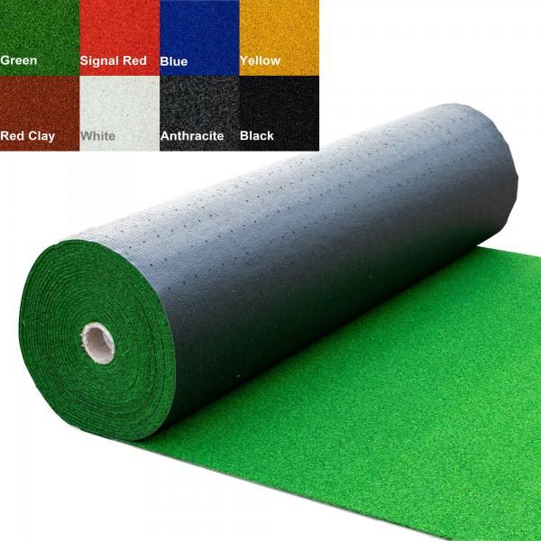2 Meter Breite - Länge nach Wahl - Low Budget - Einfarbig inkl. Verlegeband