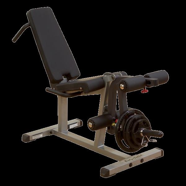 Beinstrecker-/beuger ideal für HomGyms inkl. Scheibenaufnahme 30 oder 50mm