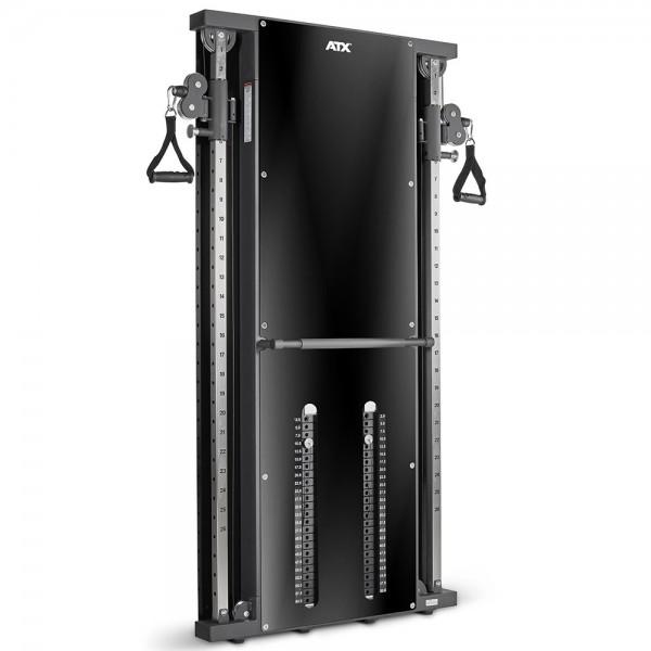 ATX® DUALE WANDZUGSTATION 2 X 60 KG MIT STECKGEWICHTEN
