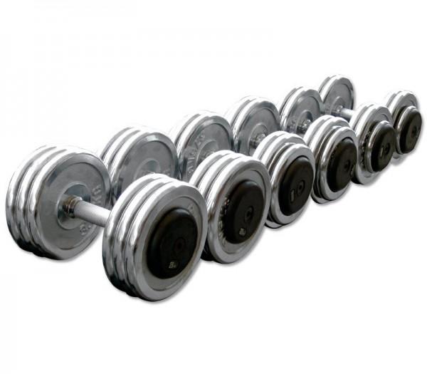 CHD-Komplettsätze- Chrom - 2,5kg Steigung
