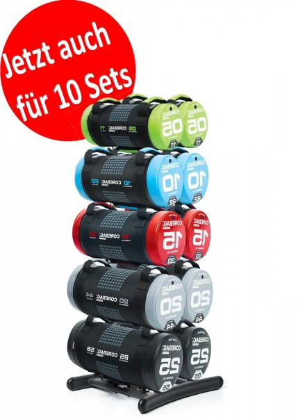 CORE-Bags Pro-Active (5-25 KG) - Doppel-Rack + 2 SETS