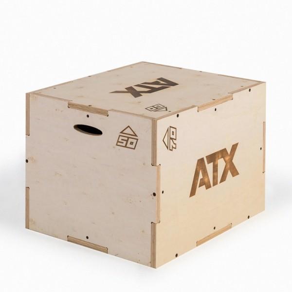 Plyo‐Wood‐ / Sprungbox Box aus Holz mit 3 verschiedenen Sprunghöhen