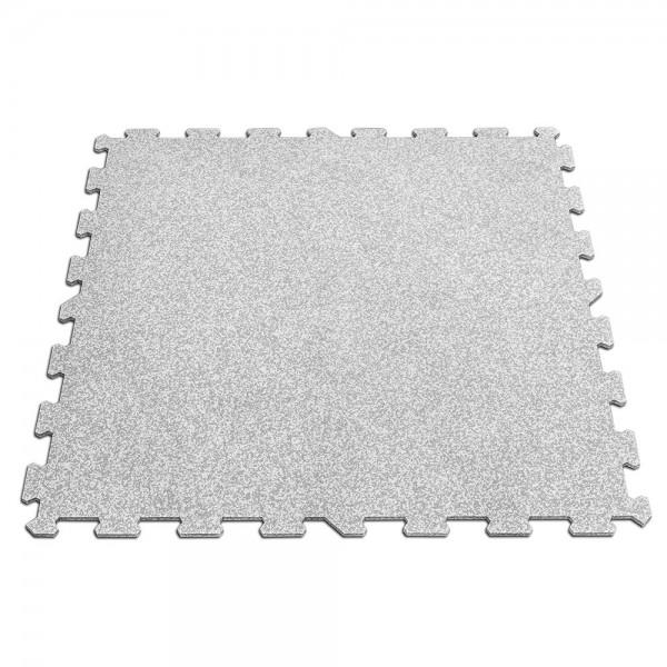 Puzzleplatte - grau / weiß - 956 x 956 x 8 mm