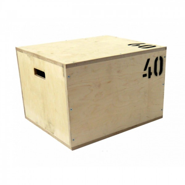 Plyo‐Wood‐ / Vario-Sprungbox Box aus Holz in drei Ausführungen