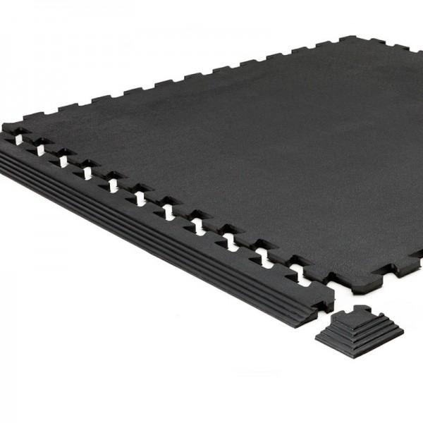 Boden-Vollgummi Puzzleplatte 17 MM