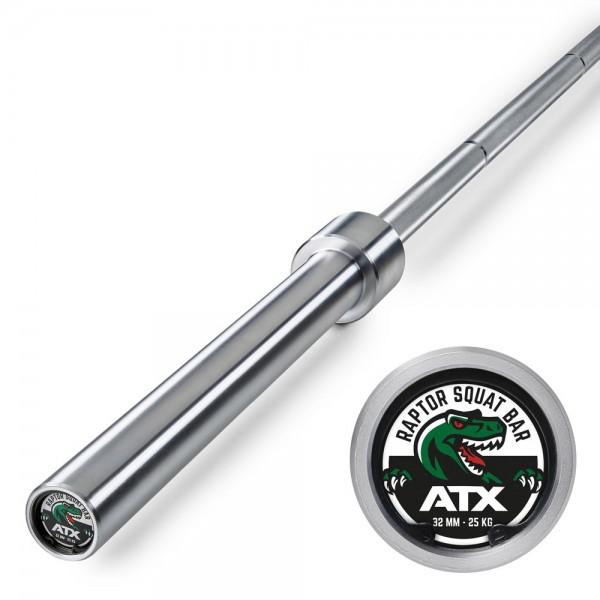 ATX® RAPTOR SQUAT BAR XTREME - 240 CM - 25 KG - GRIFFDURCHMESSER 32 MM