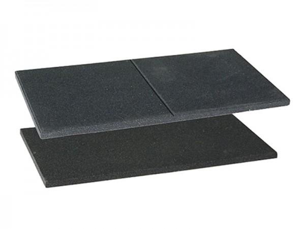 Gummi-Elastikmatte Special mit Fuge 100 x 50 cm x 20 mm - Ideal auch für kleinere Flächen