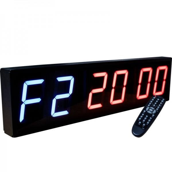 CrossFit - Timer 6 stellige Anzeige-Programmierbar