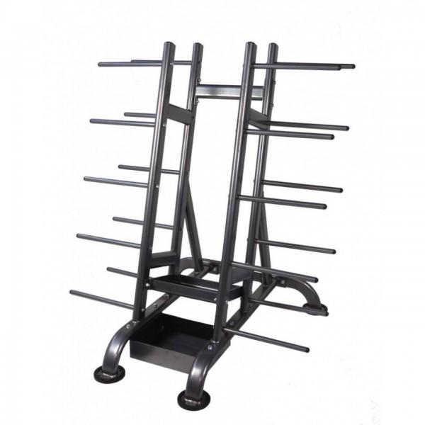 Aerobic Ständer/Rollwagen für Pump-Sets - Sondermodell in Silber