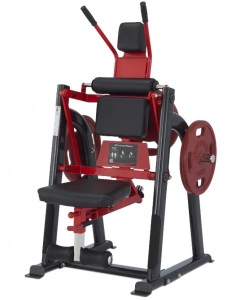 Plate-Load Bauchmuskel-Trainer, sitzend, Professional