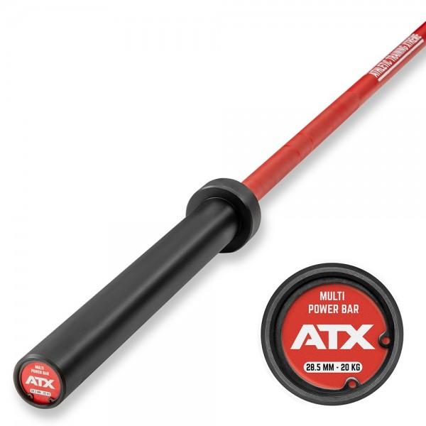 ATX® Cerakote Multi Bar - Langhantelstange in Fire Red