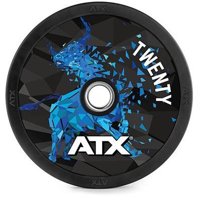 ATX® BULLS BUMPER - GEWICHTS SCHEIBEN VON 5 BIS 25 KG
